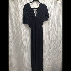 Michael Kors Navy Maxi Dress